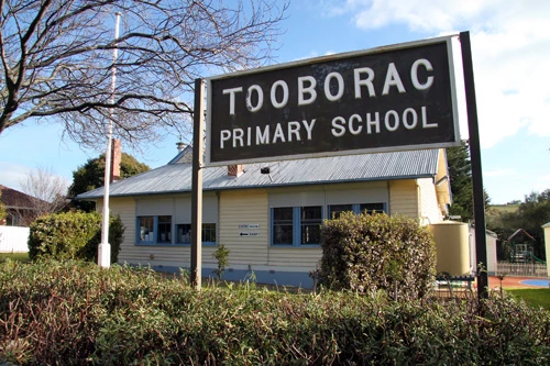 Tooborac Primary School Sign